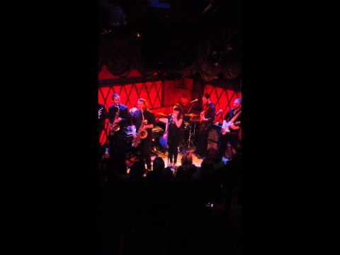 "Kat Wright sings ""Mama Said""  (The Shirelles) at Rockwood Music Hall with The Indomitable Soul Band"