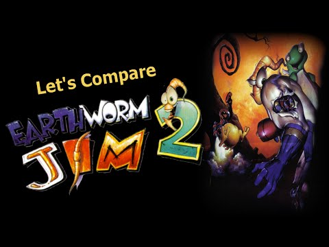 Let's Compare ( Earthworm Jim 2 )