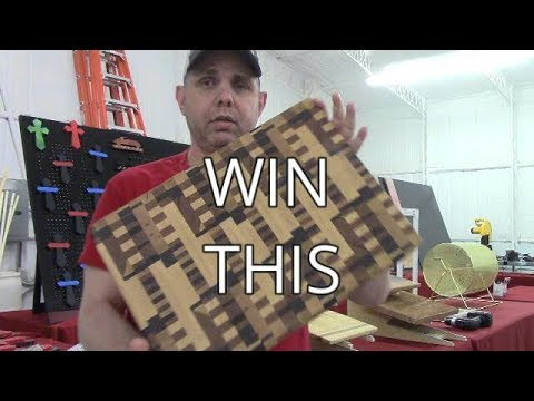 Shop Update, Carl Jacobson, Win A Cutting Board