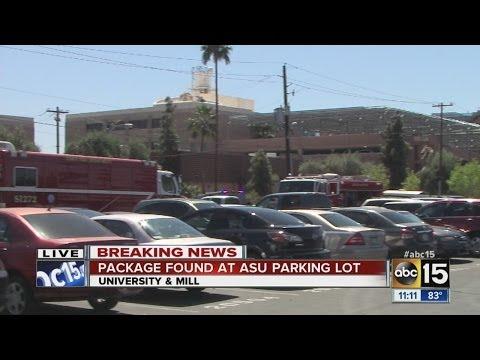 ASU Police investigating suspicious package