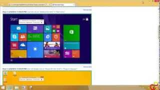 How To Record  Steps On Your Screen in Windows 8 or 8.1 (No Software Needed)