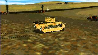 Panzer Commander Tiger Action With Tank Physics Option On