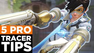 Overwatch: 5 PRO Tracer Tips You NEED To Know!