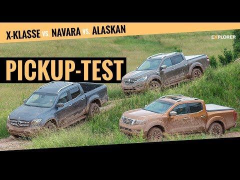 Mercedes X-Klasse Gegen Nissan Navara Und Renault Alaskan (Pickup Vergleich 2019)