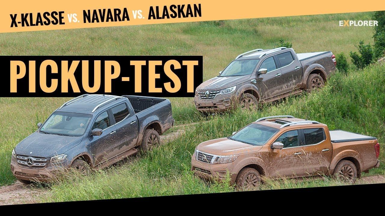 🇩🇪🇬🇧Mercedes X-Klasse gegen Nissan Navara & Renault