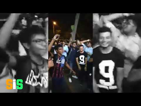 "All video compilation Delhi Connaught Place event ""Bolna Aunty au Kya "" SOT"