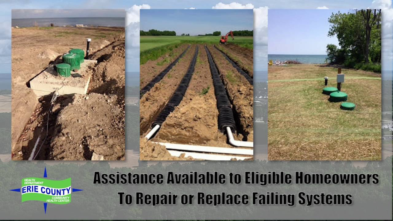 Sewage Treatment Systems Erie County Health Department And