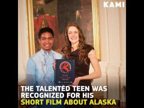 A 16 Year Old Filipino Just Got the Highest Honors For Youth in the USA - Watch!