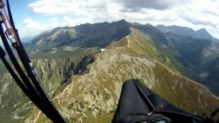 Przelot nad Tatrami