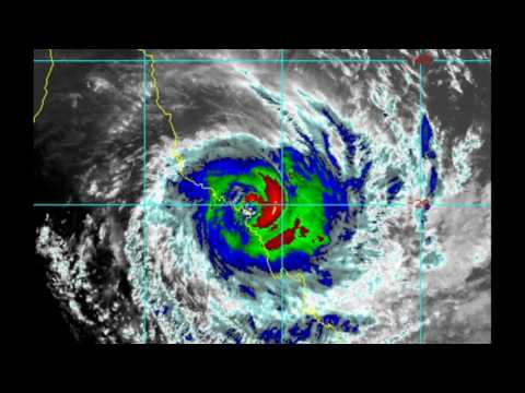 CYCLONE DEBBIE POSITION - 12:00 Brisbane Time Zone...