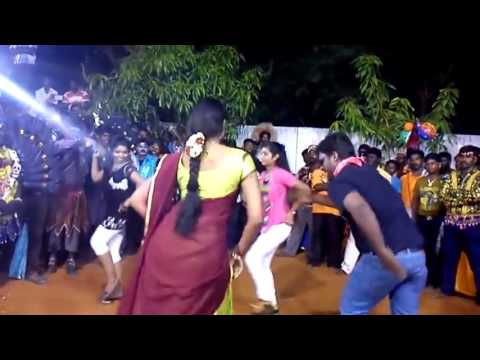 அக்கா மகள் பாட்டுக்கு ஆட்டம் போடும் பெண் Tamil Beautiful Girls Kuthu Dance Night Public Aadal Padal