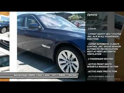 2011 BMW 7 Series at Advantage BMW Clear Lake in League City BC197101