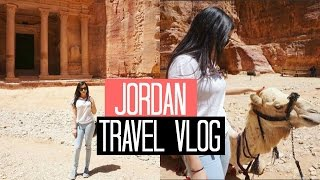 Jordan Travel Vlog | Middle Eastern Adventures
