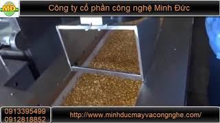 Dây chuyền sản xuất kẹo lạc tự động Minh Đức