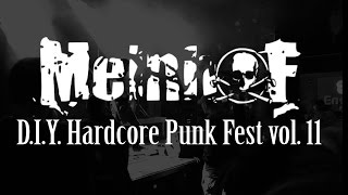 MEINHOF live at D.I.Y. Hardcore Punk Fest Vol. 11