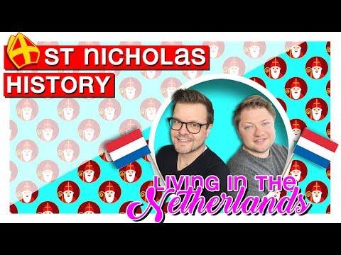HISTORY OF SAINT NICHOLAS In The Netherlands - Dutch Sinterklaas Explained