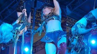 まさに究極芸術的!美女たちの妖艶なポールダンスショー ポールダンス 検索動画 6