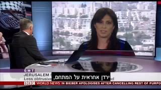 סגנית שר החוץ ציפי חוטובלי ב-BBC בסוגיית הר הבית: ישראל נלחמת בטרור כדי לשמר חיים