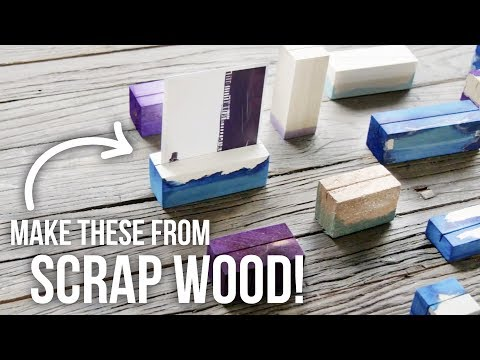 DIY Wood Photo Holders - HGTV Handmade
