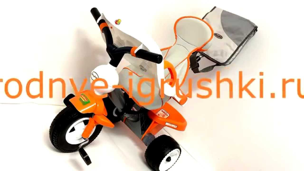 Видео инструкция сборки. Детский трехколесный велосипед Турбо .