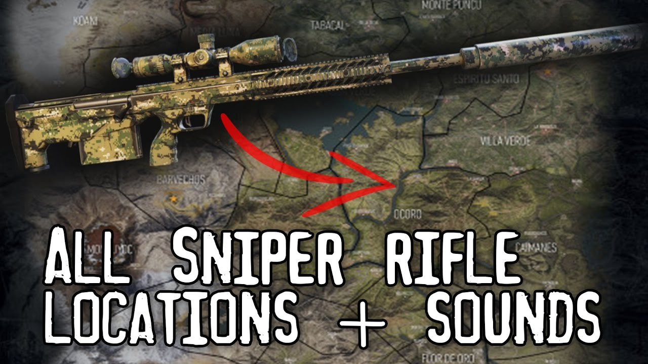 Ghost Recon: Wildlands – where to find the best sniper