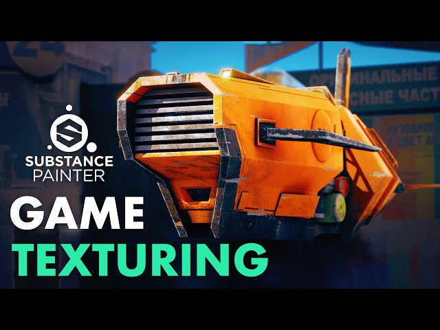 Hard Surface Texturing for Games | Trailer