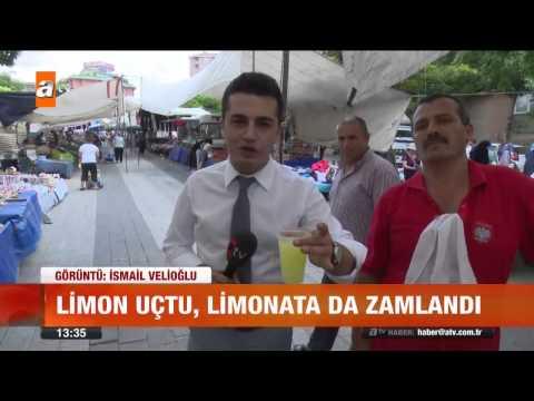 """Zam şampiyonu """"Limon"""" - Atv Gün Ortası Bülteni"""