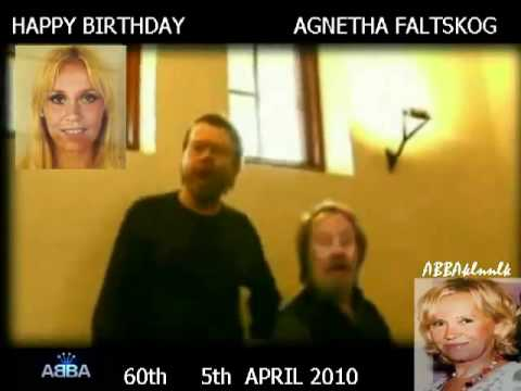 ABBA - Benny e Björn singing to Agnetha 60th