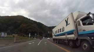 【但馬ドライブ】天子交差点(八鹿)→但馬日高郵便局前交差点(日高) 60fps