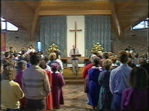 ITV Morning Worship from St Peters Hextable, Kent on 14/12/1986