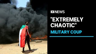 """Community leader calls """"absolute betrayal of people's trust"""" of military coup in Sudan 