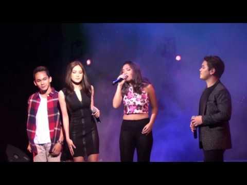 Paraiso - Julie, Rita, Renzo & Pocholo Bismonte During Versus Verses Concert