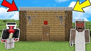 KÖTÜ BÜYÜKANNE'nin EVİ NASIL YAPILIR? - Minecraft