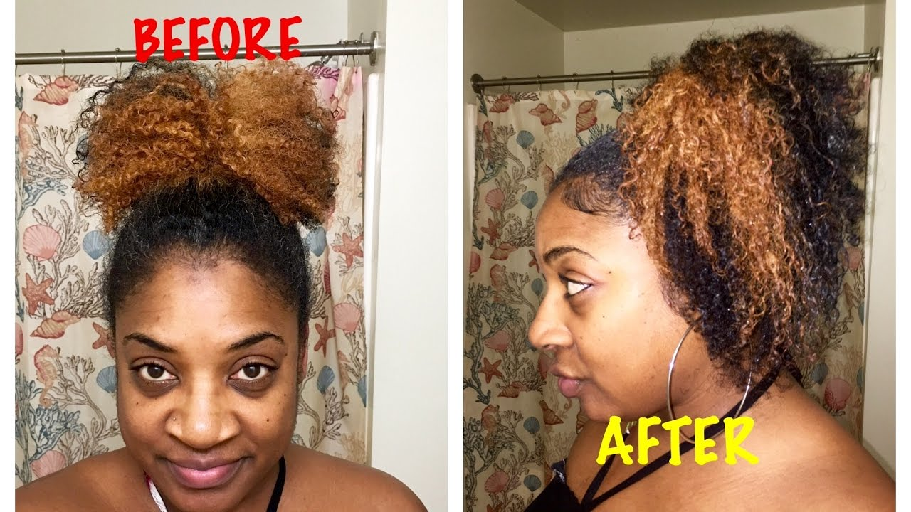 how to keep natural hair curly overnight