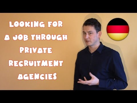 Germany #23 - Looking for a job through private recruitment agencies (POLISH SUBTITLES)
