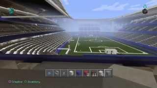 Minecraft Tour: Allianz Arena Football Stadium