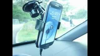Galaxy S3 Charging on Owl Car …
