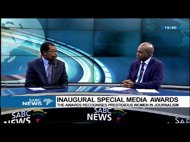 DR. T.A. Ralekholela on the inaugural Special Media Awards #1