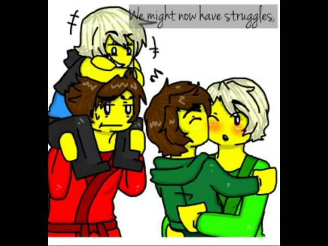 A thousand years lego ninjago kai x lloyd