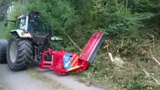 Video still for Lets get one Million Views Mulcher Test mit Kamps Seppi.M Böschungsmulcher und Valtra 8950 Hitec