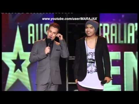 Australias Got Talent 2012 Genesis BeatBox  Semi Final Full HD
