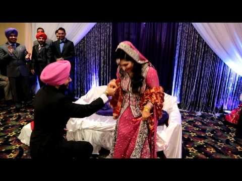 Navjot & Kirandeep Engagemant (Singh Naal Jodi | Diljit Dosanjh | Sukshinder Shinda