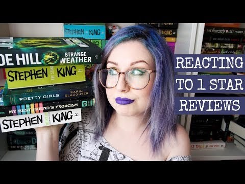 REACTING TO 1 STAR REVIEWS OF MY FAVORITE HORROR BOOKS! !