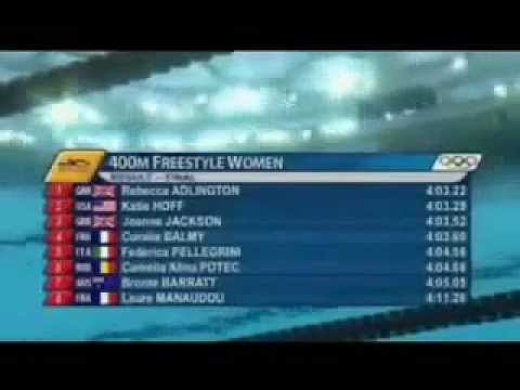 Rebecca Adlington - Beijing 2008 - 400m Freestyle