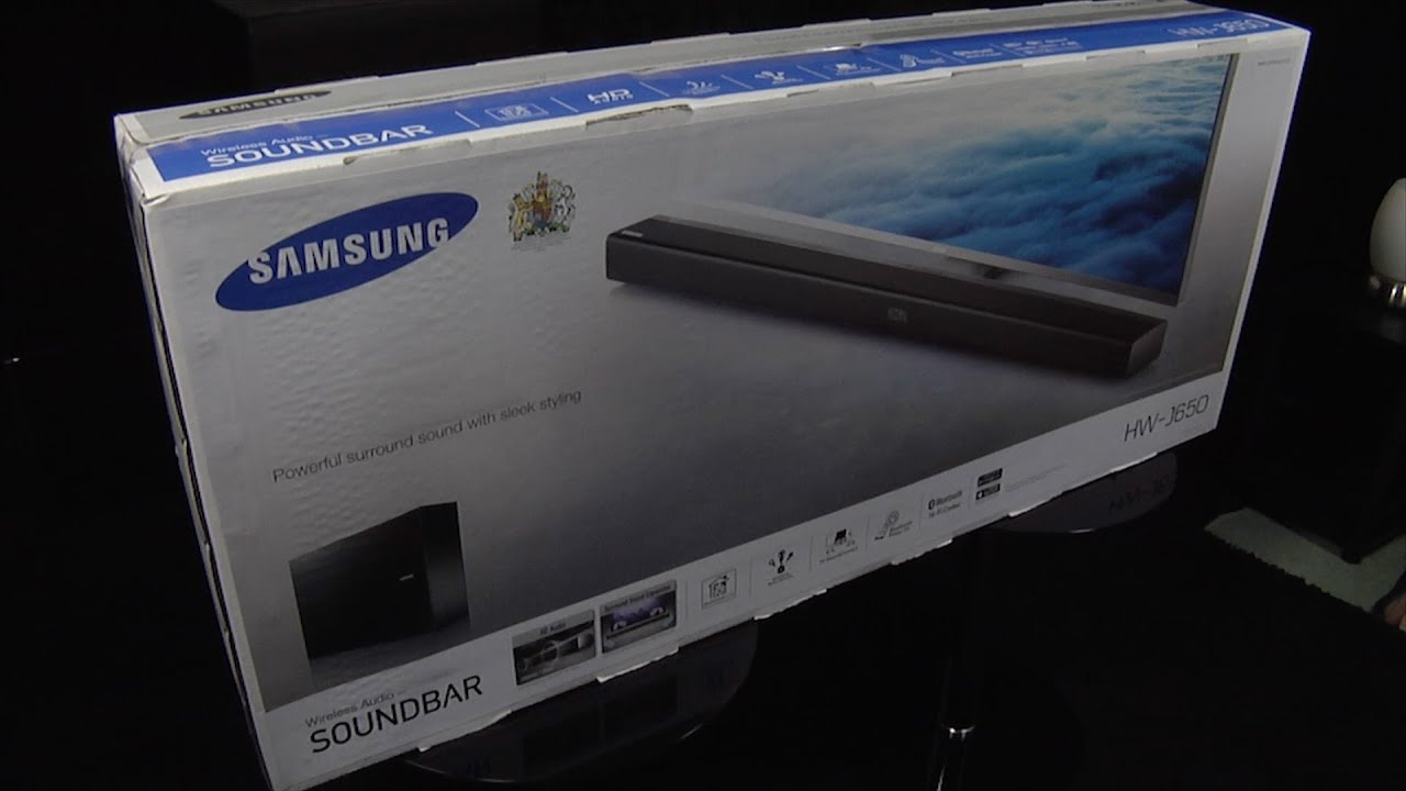 Samsung Hw J650 Soundbar Unboxing And First Look Youtube
