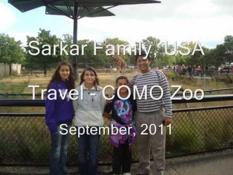 Sarkar Family, USA Travel Minnesota COMO Zoo Sep 2011