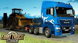 Nocna trasa - Euro Truck Simulator 2 | (#28)