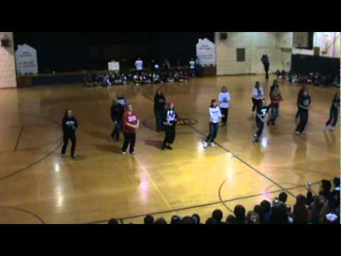 West Geauga Middle School OLWEUS Anti-Bullying Flash Mob.MPG
