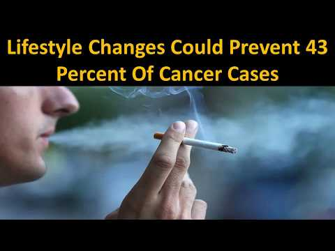 Lifestyle Changes Could Prevent 43 Percent Of Cancer Cases