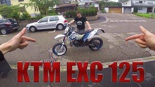 KTM EXC 125 on Limit! | Größte Fail- Probefahrt